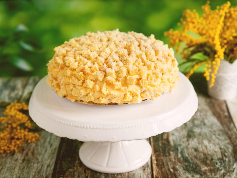 Torta mimosa ricetta facile
