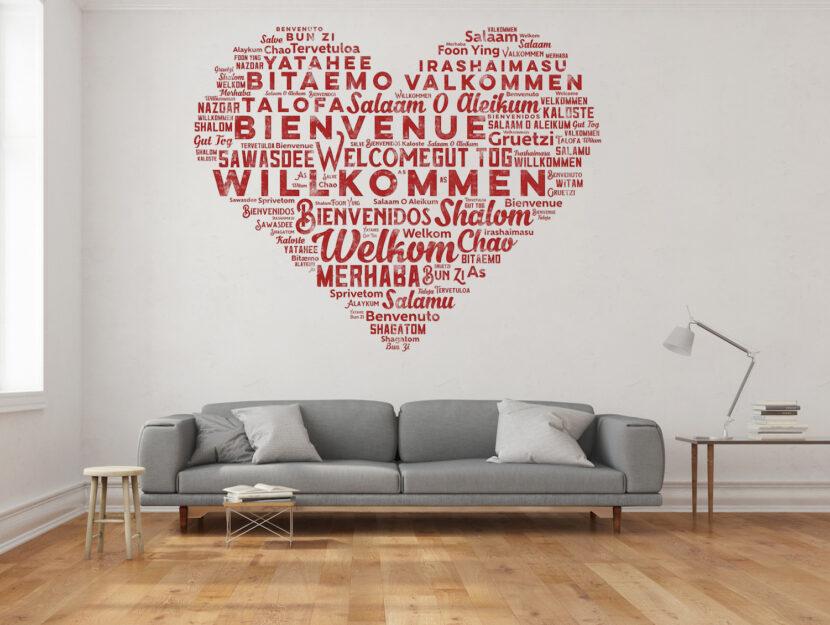 Adesivi Murali Con Frasi Per Decorare Casa Donna Moderna