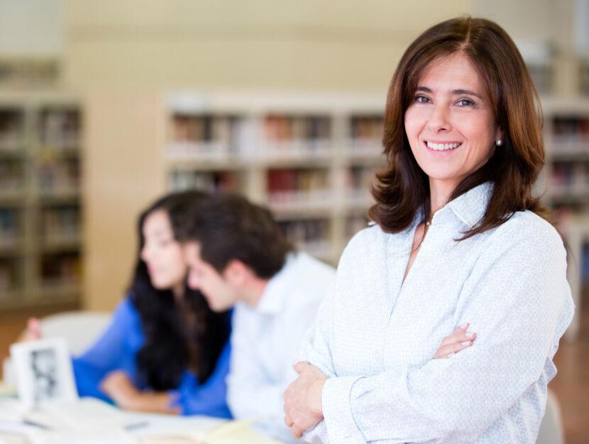 Donna mentor studenti