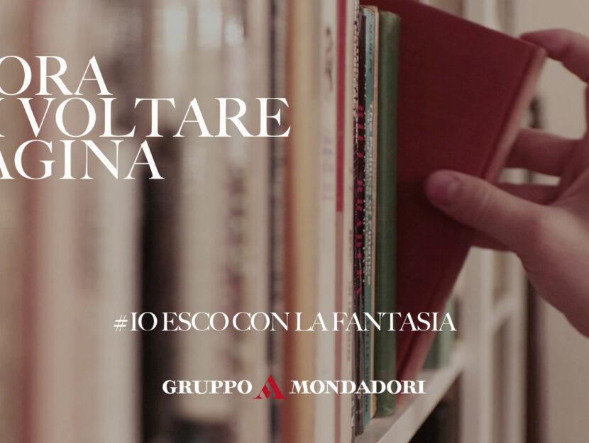 Io esco con la fantasia immagine campagna Gruppo Mondadori
