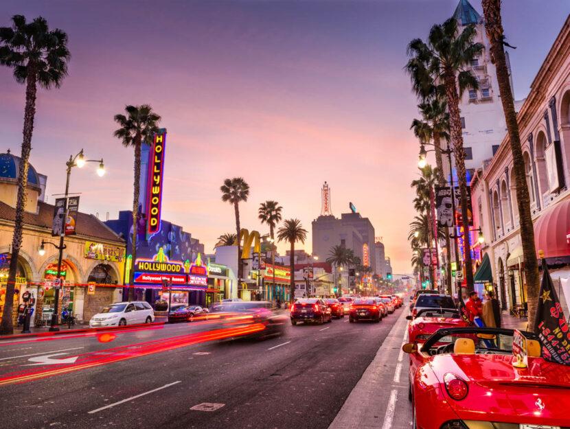 Los Angeles Hollywood Boulevard