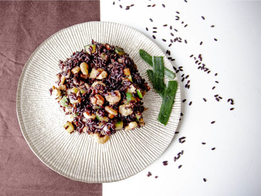 Come cucinare il riso venere