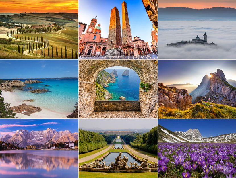 Vacanze in Italia: Paese bellissimo