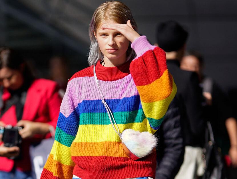 moda colori arcobaleno