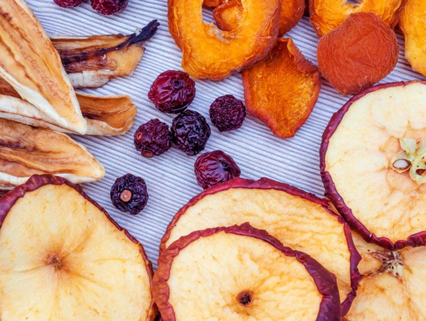 come essiccare frutta e verdura