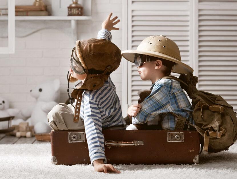 Bambini esploratori