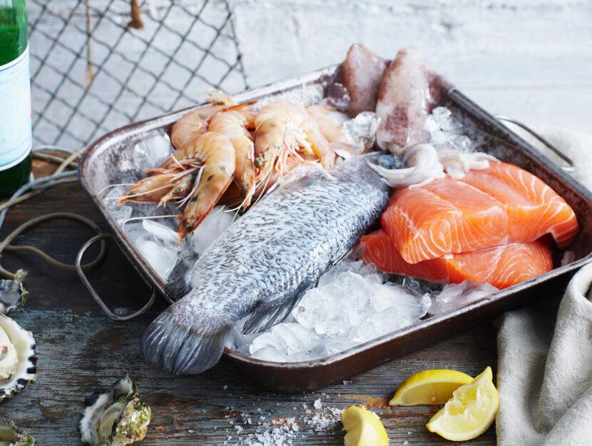 Pescato frutti di mare pesci: varietà e differenze