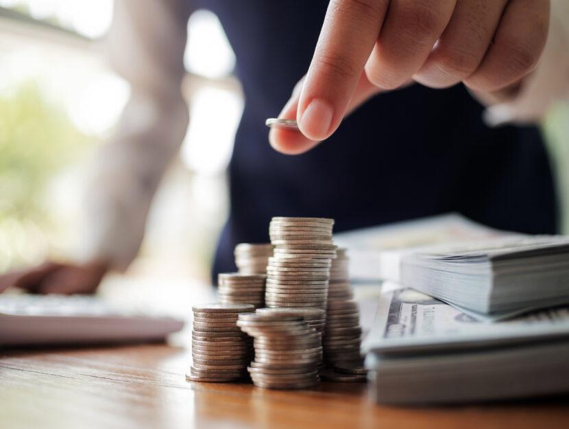 Soldi monete carta uomo pc
