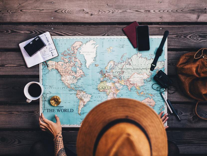 Come viaggiare organizzando un viaggio