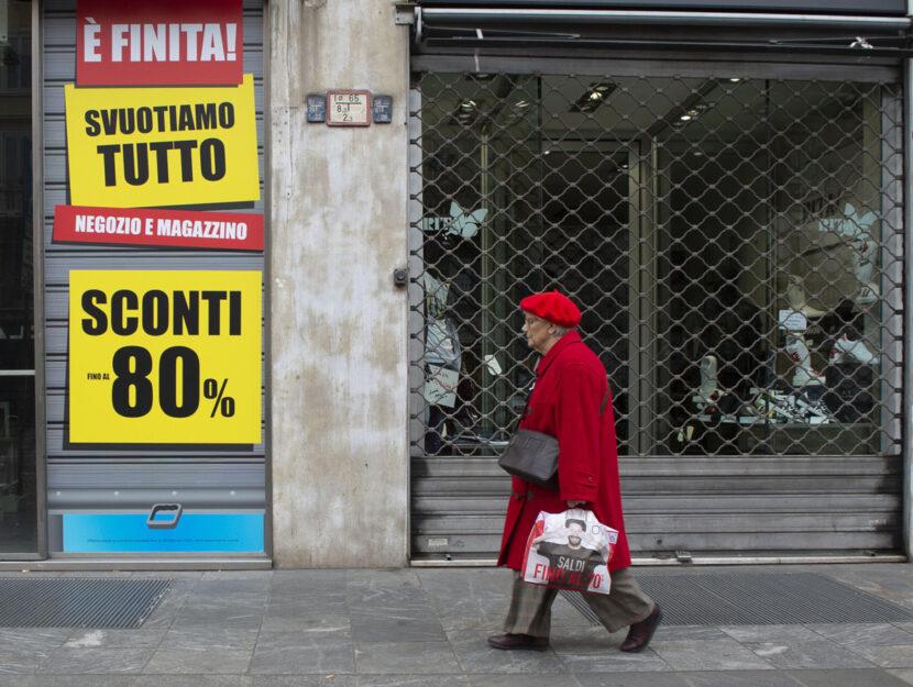 negozi chiusi Milano