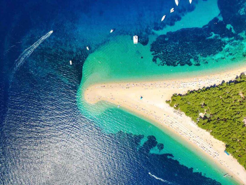 L'isola di Brac in Croazia