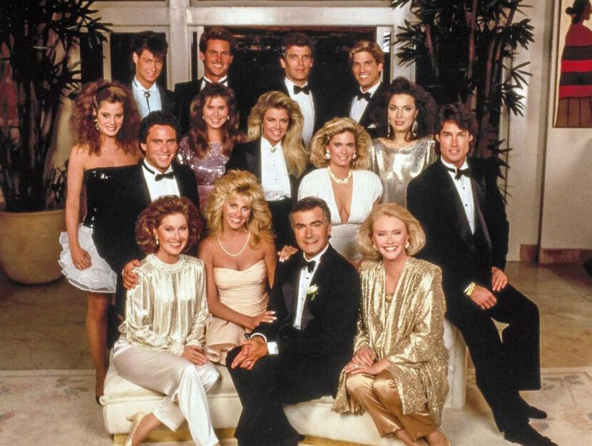 Beautiful,  il cast degli anni '90