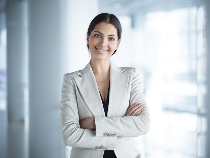 Donna manager ufficio