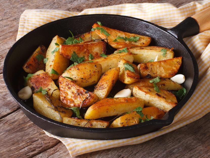 Patate saltate: ricette con prezzemolo fresco