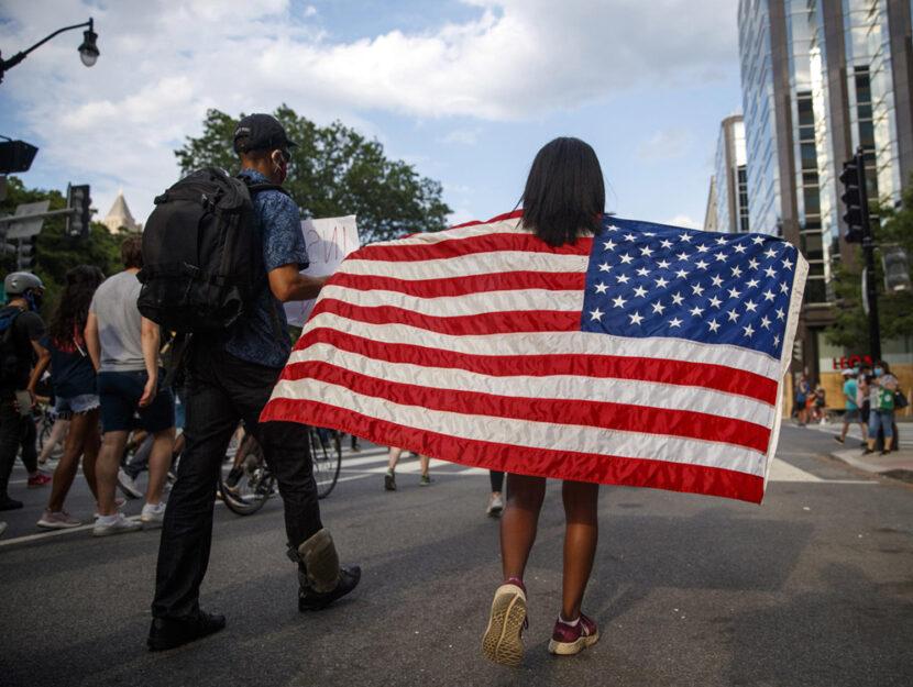 Usa manifestazioni bandiera