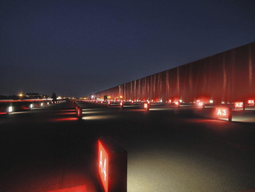 Il Kilometro rosso a Bergamo.