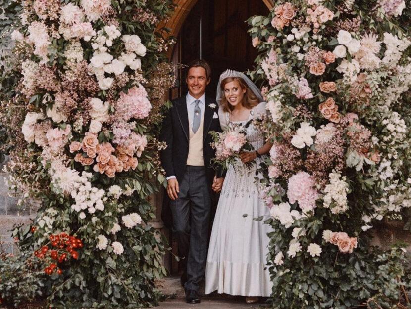 Erano solo 14 gli invitati al matrimonio della principessa Beatrice di York