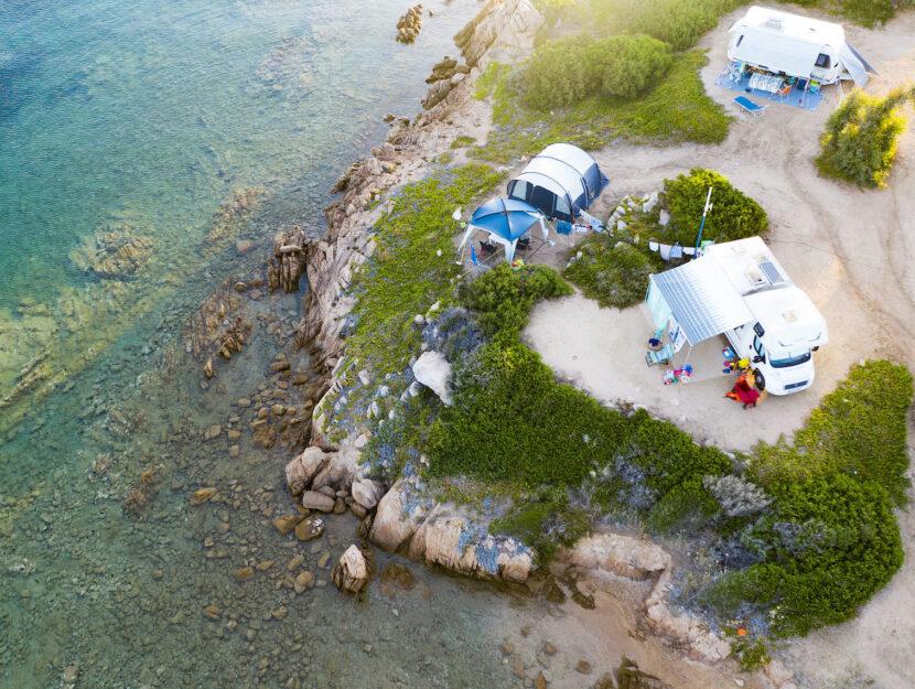 Il camping Piccola Gardiola lago di Garda