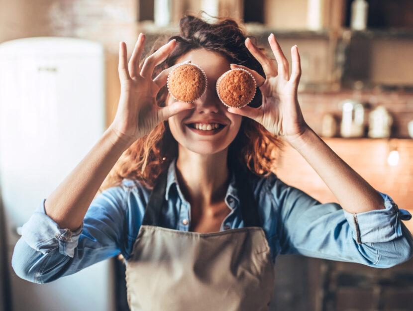 cucinare dolci per gli altri fa bene