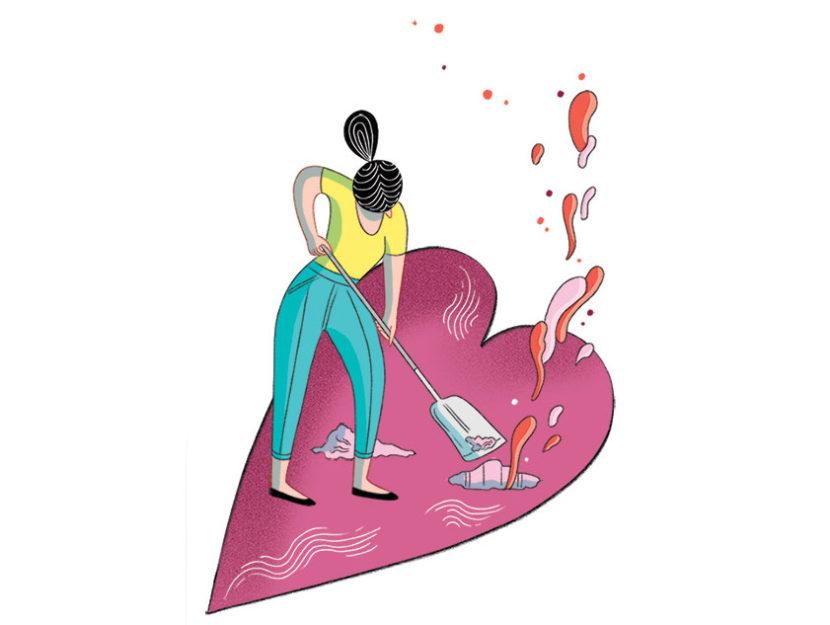 Illustrazione Macellari Donna Moderna