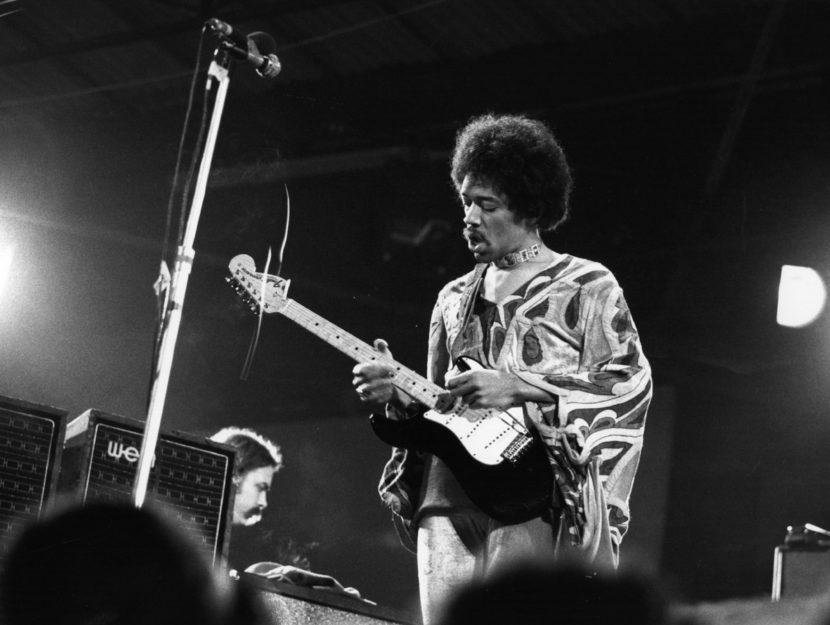 Jimi Hendrix August 1970