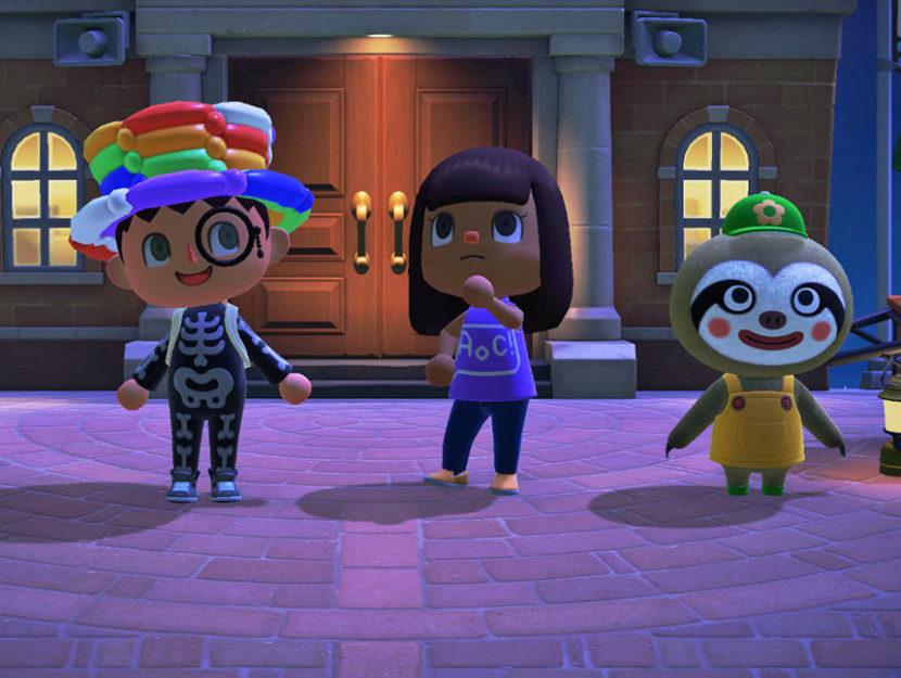 L'avatar della deputata americana Alexandria Ocasio-Cortez nel videogame Animal Crossing