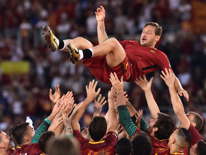 Francesco Totti ultima partita Roma 30 maggio 2017