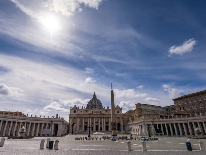 Vaticano piazza San Pietro Roma
