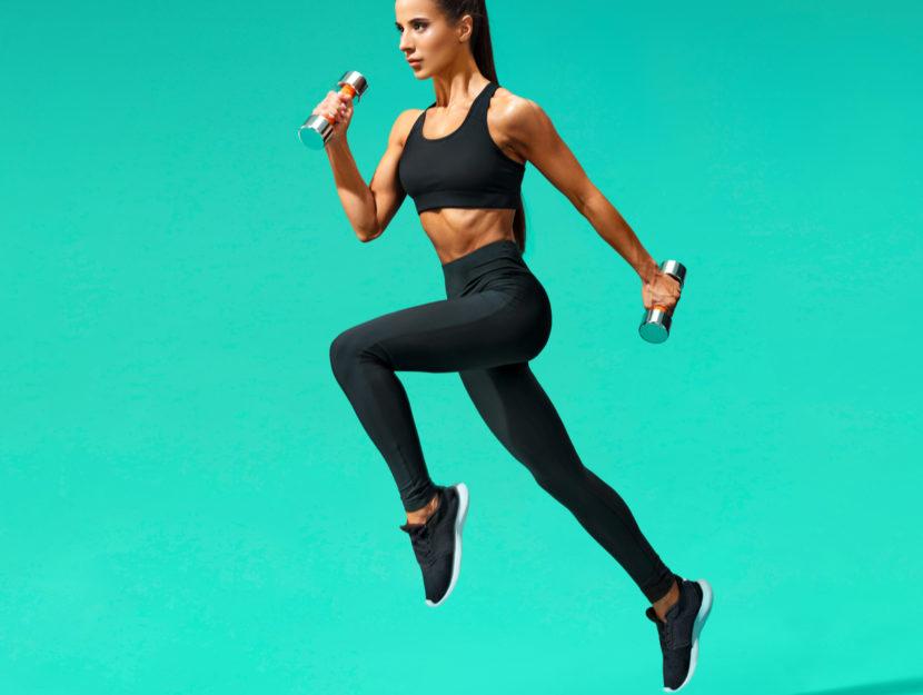 Correre con i pesi