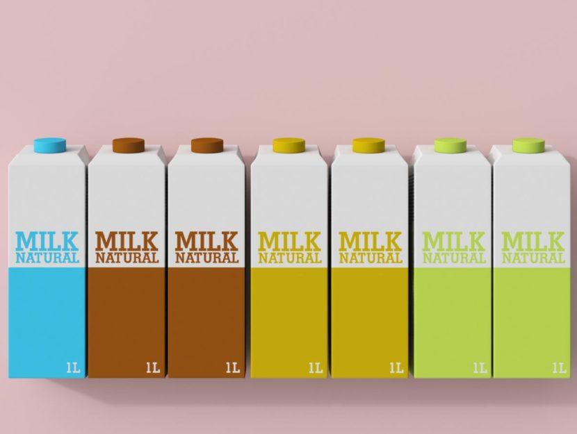 cartoni del latte