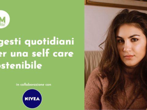 I gesti quotidiani per una self care sostenibile