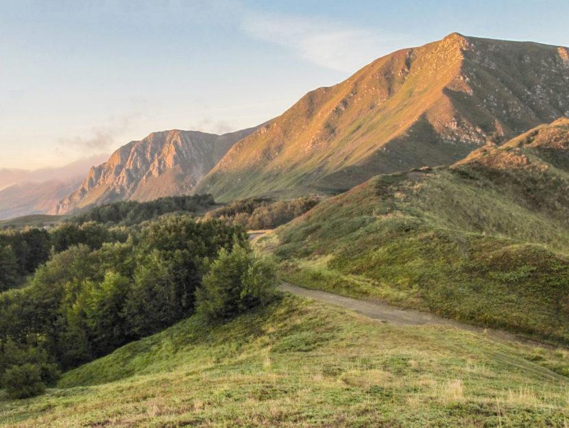 I monti Prado e Cusna tra Lucca e Reggio