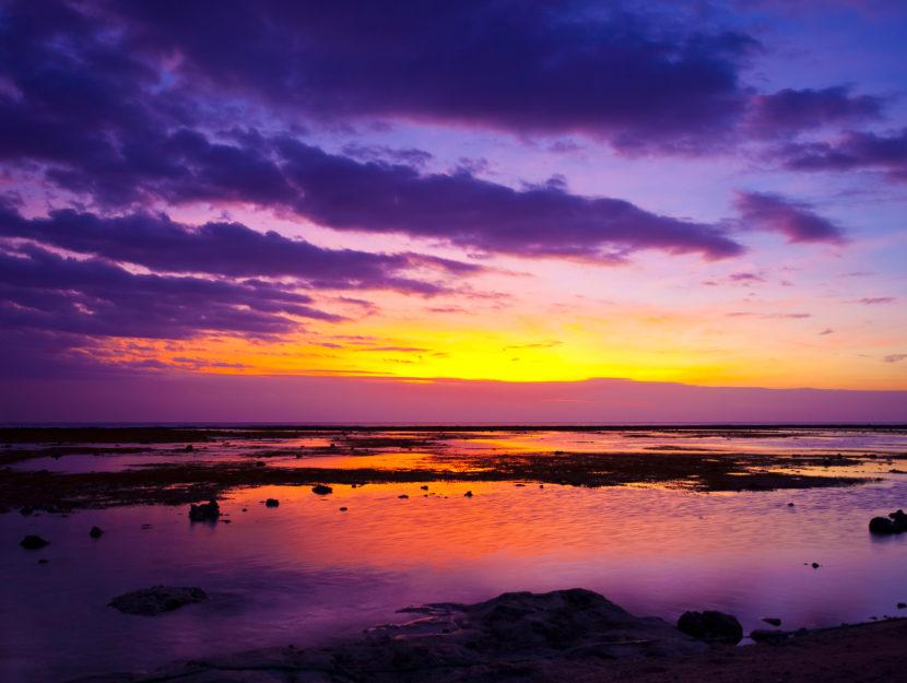 foto di tramonti rilassanti