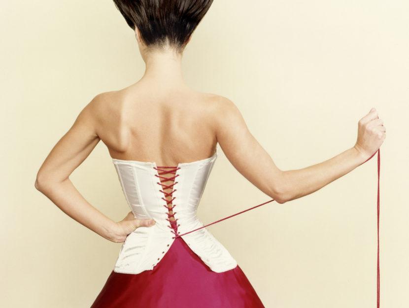 Donna corsetto