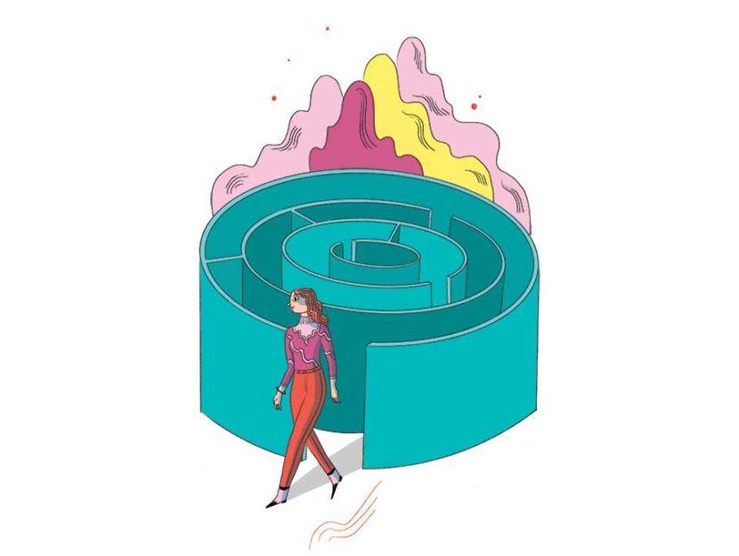 Elisa Macellari illustrazione per Donna Moderna