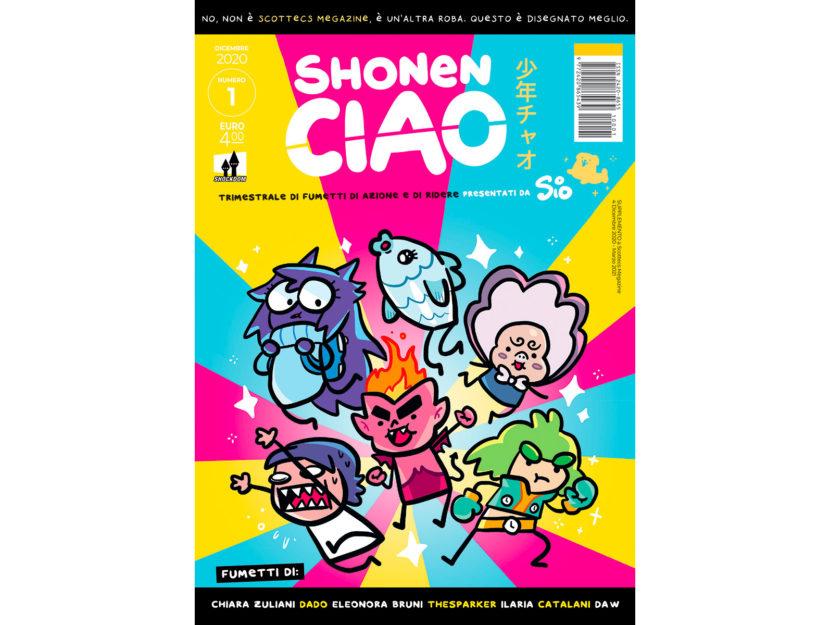 La copertina del primo numero di Shonen Ciao, in edicola dal 4 dicembre
