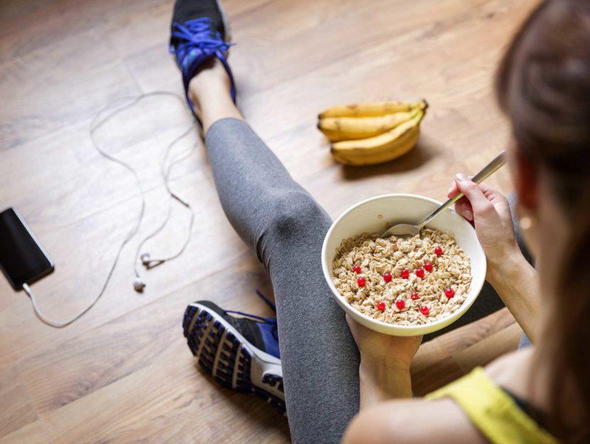 Cosa mangiare prima dell'allenamento?