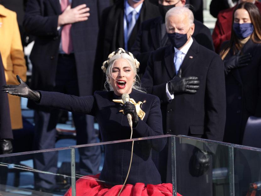 Lady Gaga inno Usa Joe Biden