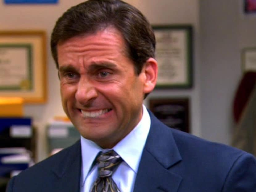 "Steve Carell in ""The Office"""