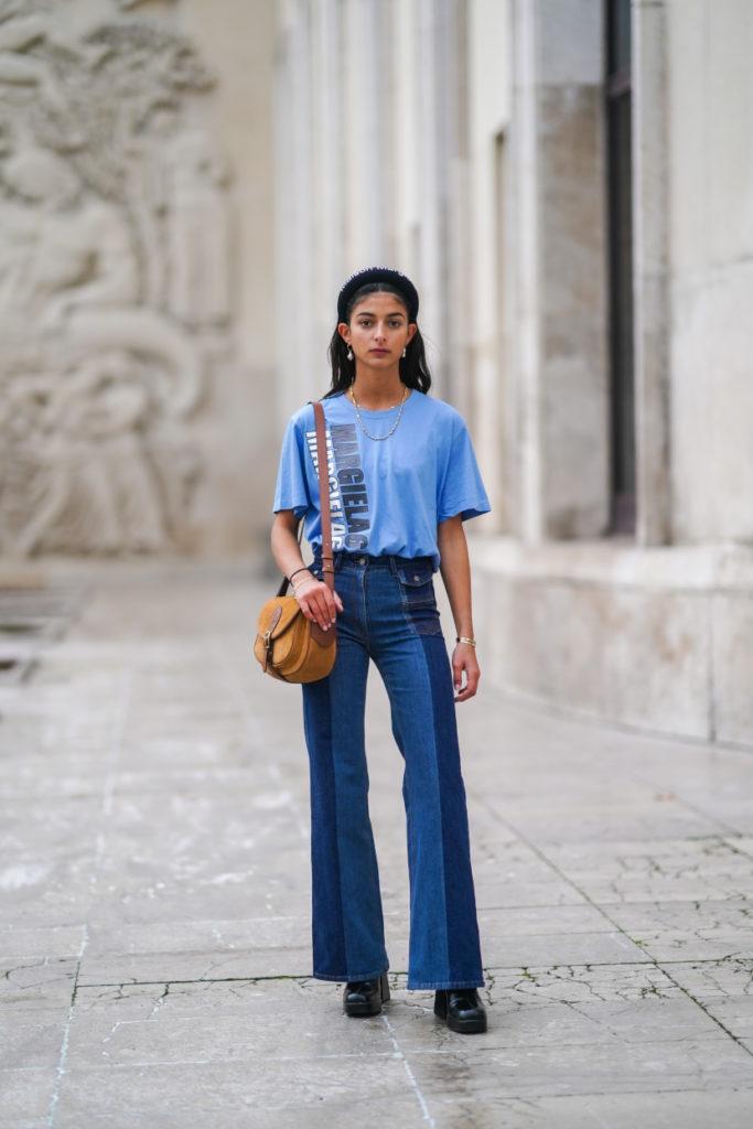 Flare jeans primavera estate 2021