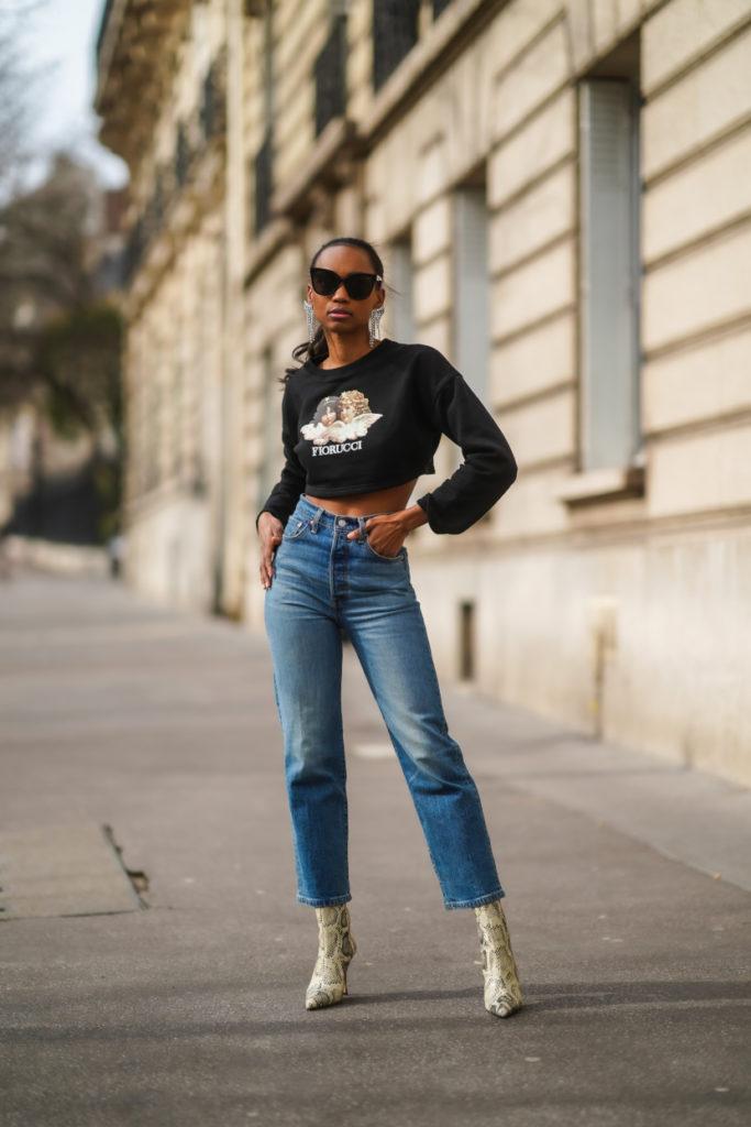 Cropped flare jeans primavera estate 2021