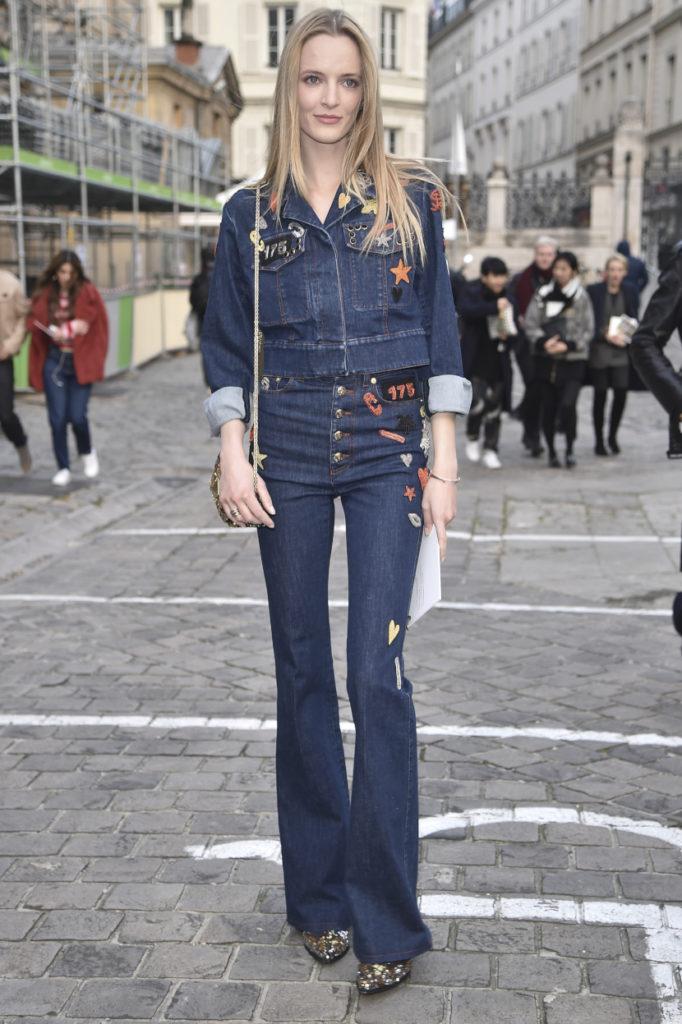 Jeans con ricami o patchwork primavera estate 2021