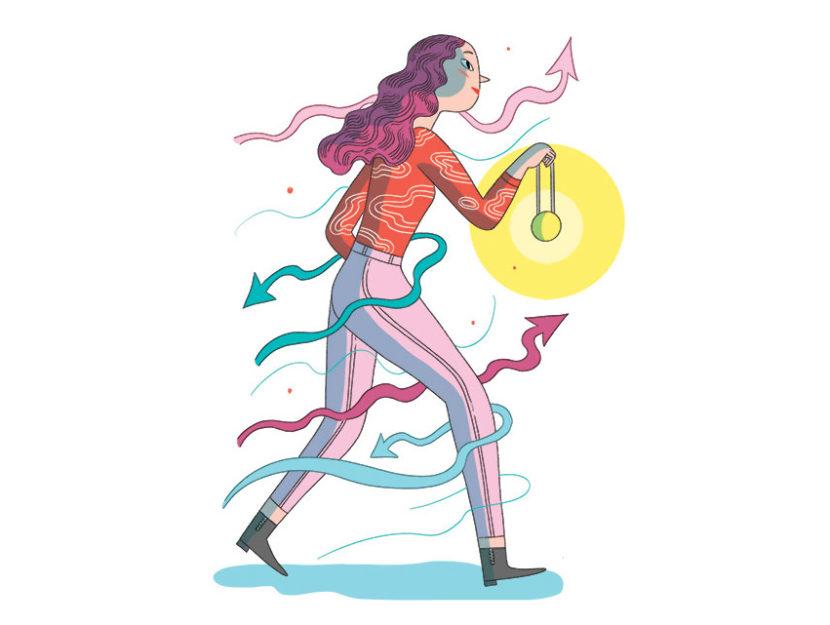 Elisa Macellari per Donna Moderna
