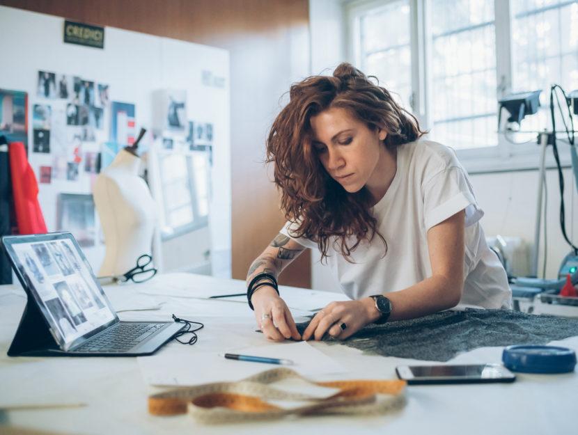 Fashion designer donna