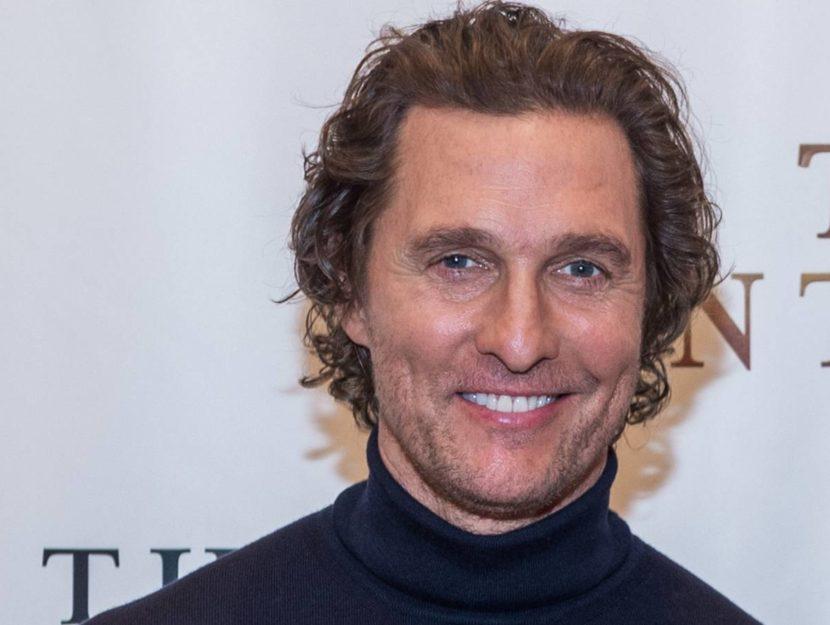 Matthew McConaughey è una delle star degli spot del SuperBowl 2021