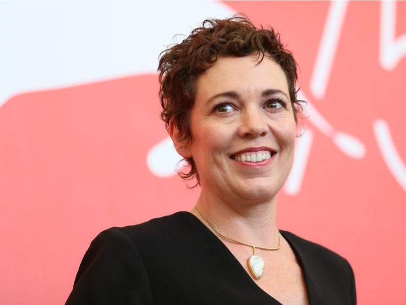 L'attrice premio Oscar Olivia Colman