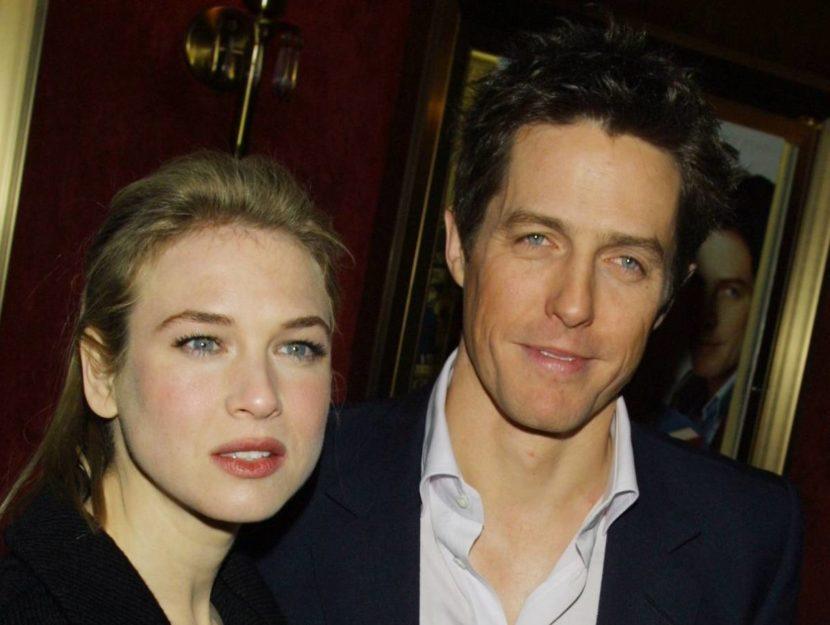 Renée Zellweger e Hugh Grant sono i protagonisti de Il diario di Bridget Jones