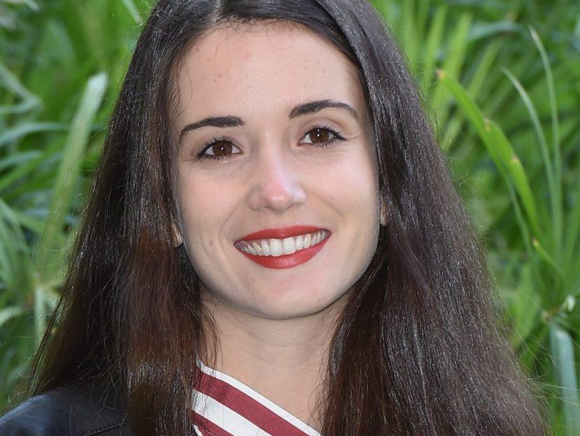 L'attrice siciliana Claudia Gusmano