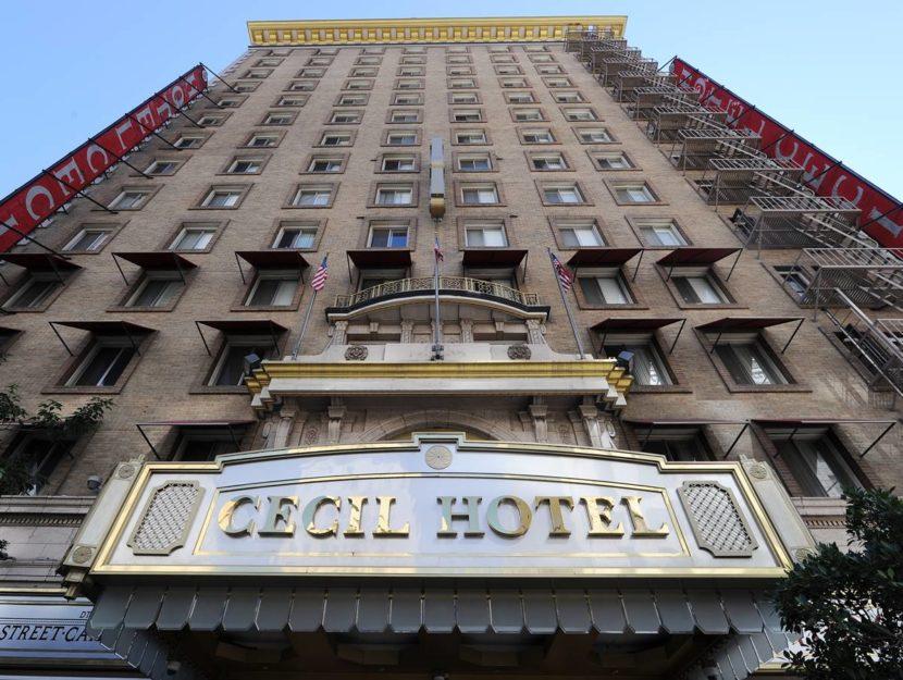 Il Cecil Hotel di Los Angeles