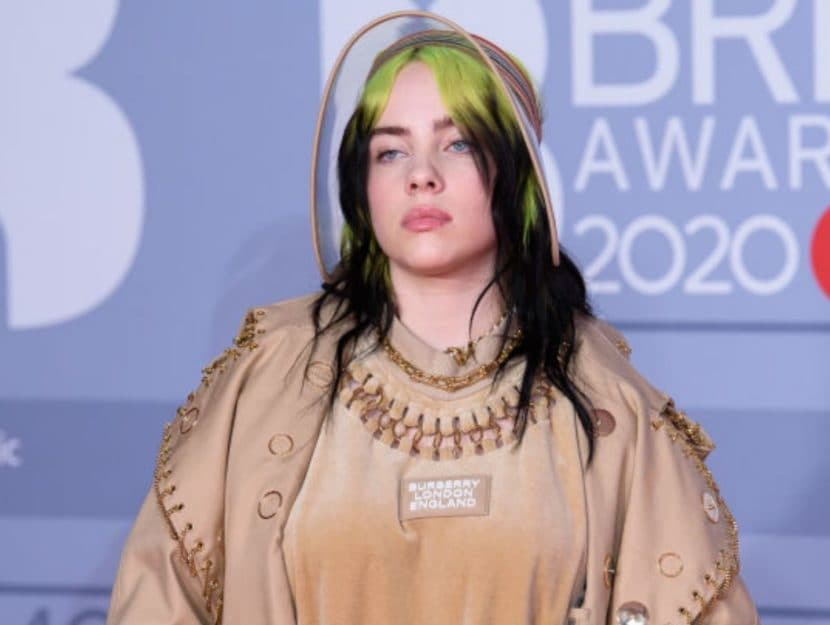 Billie Eilish sul red carpet